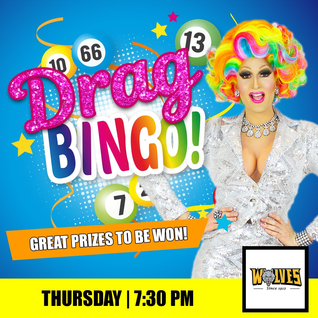 Join us for Drag Bingo at  Windsor Wolves RLC Thursday  night hosted by Prada Clutch!⠀⠀ Balls drop 7:30 PM. Great prizes to be won! ⠀⠀   Bookings essential - Contact the club direct  ⠀⠀ #DragBingo #BingoSydney #SydneyDragQueenpic.twitter.com/jMOYGvVh99