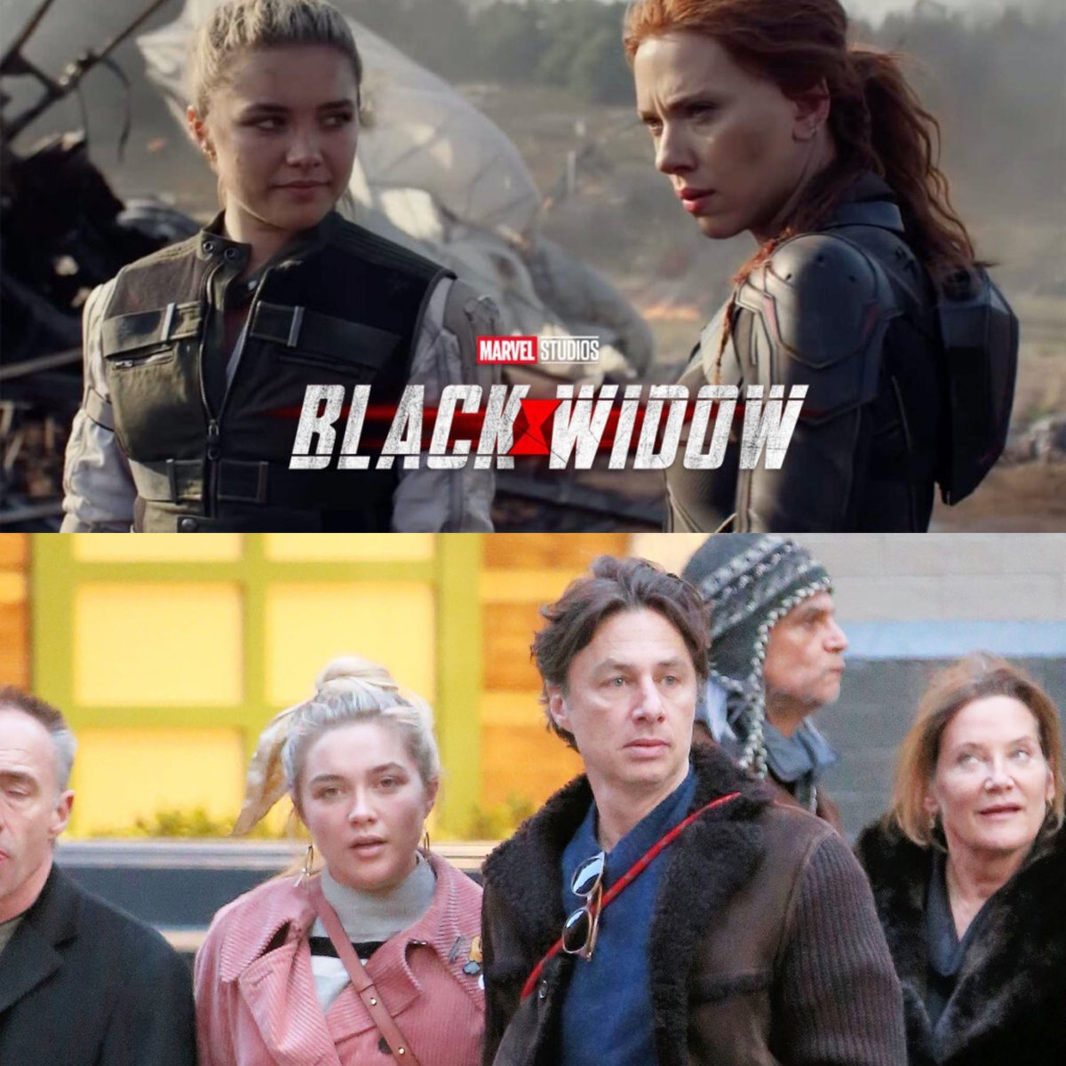 So does Florence Pugh being the new Black Widow mean that Zach Braff could be in the MCU 😂 #nnpa #blerdbinder #africanamericannews #news #comicnews #nerdnews #nerd #l #TV #movies #shadow&act #videogames #theblerdbinder #bestoftheday #newsoftheday #mcu #blackwidow #zachbraff https://t.co/0Ql2RwSl3r
