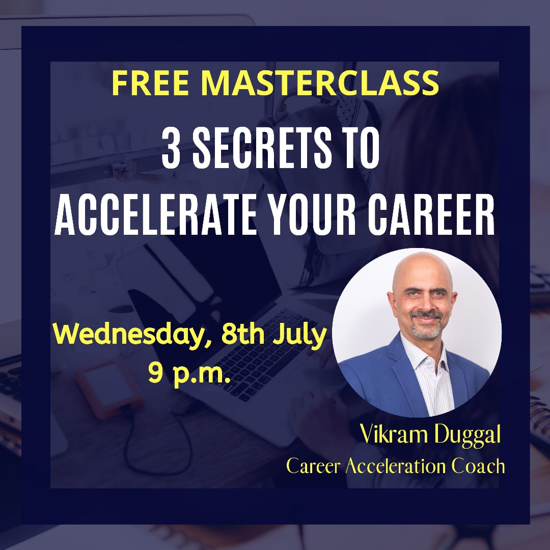 Registration Link: https://t.co/LGqpvLcVxI   #careeracceleration #careerdevelopment #careergrowth #irresistibleworkplaces #leadershipcoach #leadershiplessons #learning #learninganddevelopment #personaldevelopment #personalgrowth https://t.co/jHcvzdZS65