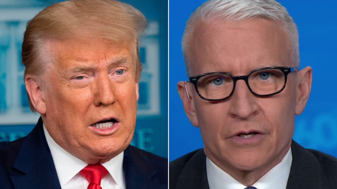 """""""This President wants you to suck it up, not just the virus, but his failure to take it seriously.""""  CNN's Anderson Cooper reacts President Trump's comment that coronavirus is """"99% harmless"""" while the number of cases in the US continue to rise.  https:// cnn.it/38wJIaK     <br>http://pic.twitter.com/dmiXBrCTuj"""