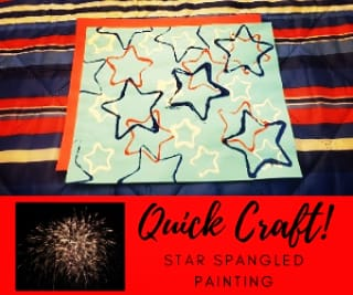 New Post! Quick Craft! Star-Spangled Painting! https://buildahappyhome.com/2020/07/07/quick-craft-star-spangled-painting/ … #family #makingmemories #4thofJuly #craft #starspangledpaintingpic.twitter.com/wr0uEF9RTT