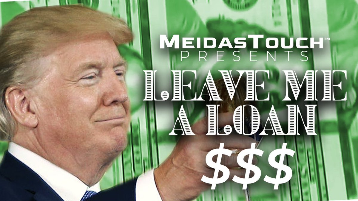 New video from @MeidasTouch 🔥 #LeaveMeALoan 💵