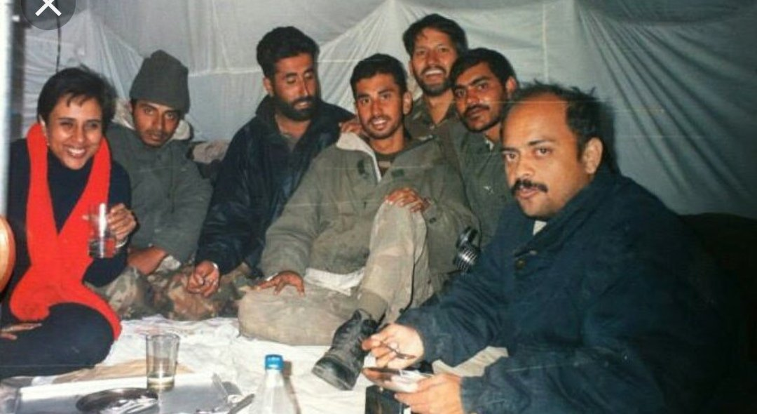 21 years ago I met the extraordinary #VikramBatra, Code name, Sher Shah, the swashbuckling soldier who was one of the first interviews I did at the #Kargil frontline and would be the first obituary tribute Id write as well. It feels like yesterday to me. I can hear his laugh 1/n