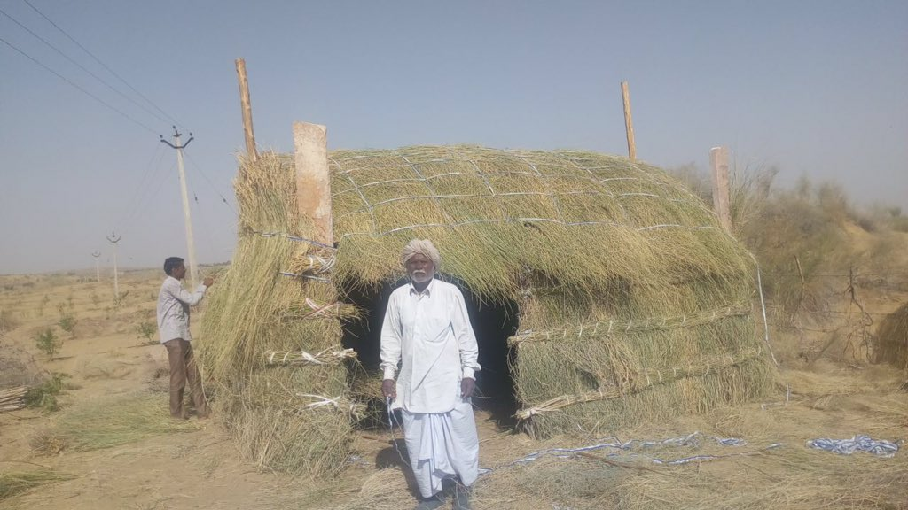 Let people live their lives and we should adjust with them. Rather bring technology and disrupt life climate economy and families. Making two zero cost extreme environment friendly service apartment in Thar Desert. #capt  #life #climate #environment #life https://t.co/HIrZxBFsy5