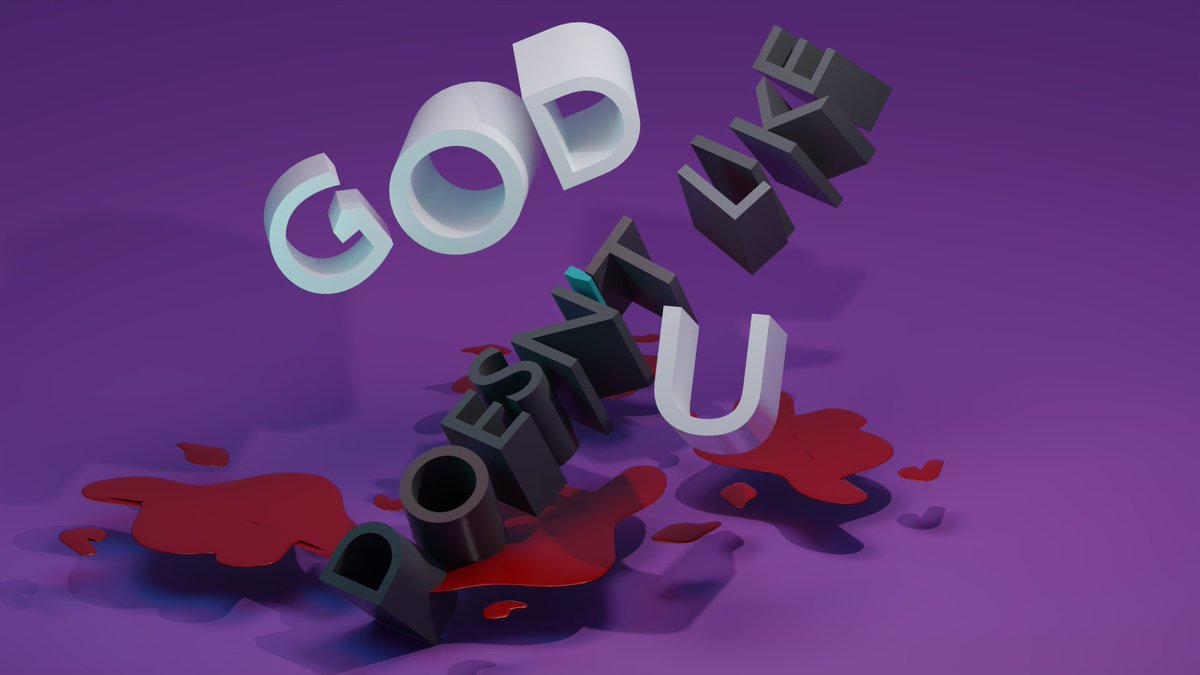 1st lettering model in 3D. Two things to take into account: 1.-My pc last pretty much in rendering. 2.-Have to get better in lightnin.   #3d #lettering pic.twitter.com/6sG0PxcYPh