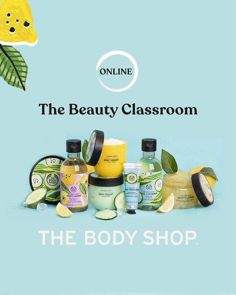¡El 9 de julio no te pierdas #TheBeautyClassroom de @TheBodyShopSP! Descubre sus productos y tips sin salir de casa en https://t.co/rqbw5lbGbv. Apúntate GRATIS en la tienda de @plazamar2 en #Alicante. Al final de la clase un asesor resolverá tus dudas y disfrutarás de un 15% dto. https://t.co/MRMYdMfOEk