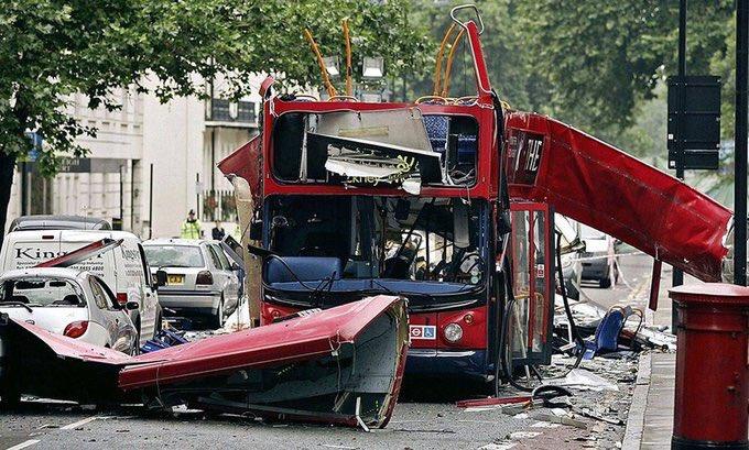 Il y a 15 ans, le 7 juillet 2005, les attentats de #Londres faisaient 52 morts et près de 800 blessés #AQ #NeverForget https://t.co/s7vcRS5LDc