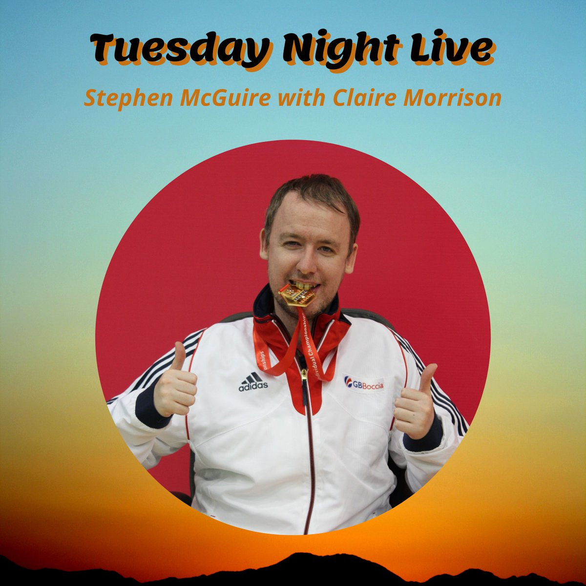 Looking forward to hearing @bocciabhoy talking to @ClaireMorrison6 this evening about his journey in elite sport. https://t.co/1INakgOURS @BISFed @BocciaUK @BocciaEngland @dsw_news @DSNI_Boccia @sportscotland https://t.co/8PzzlGvEQ7