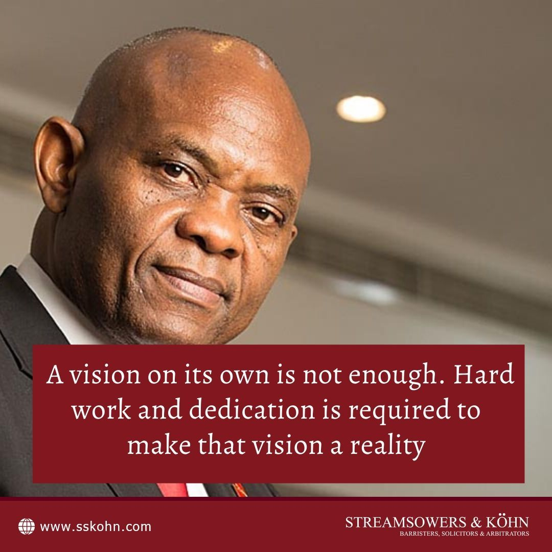 A vision on its own is not enough. Hard work and dedication is required to make that vision a reality - Tony Elumelu  #QOTD #TonyElumelu #SSKohn #WeAreSSKohn https://t.co/LnQjxWjwXs