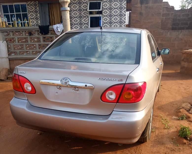 Few months used #Toyota corolla 2003  Lagos        N1.2m  09071887708 or send a DM.  #jodiautospic.twitter.com/BDEw4mI8xQ