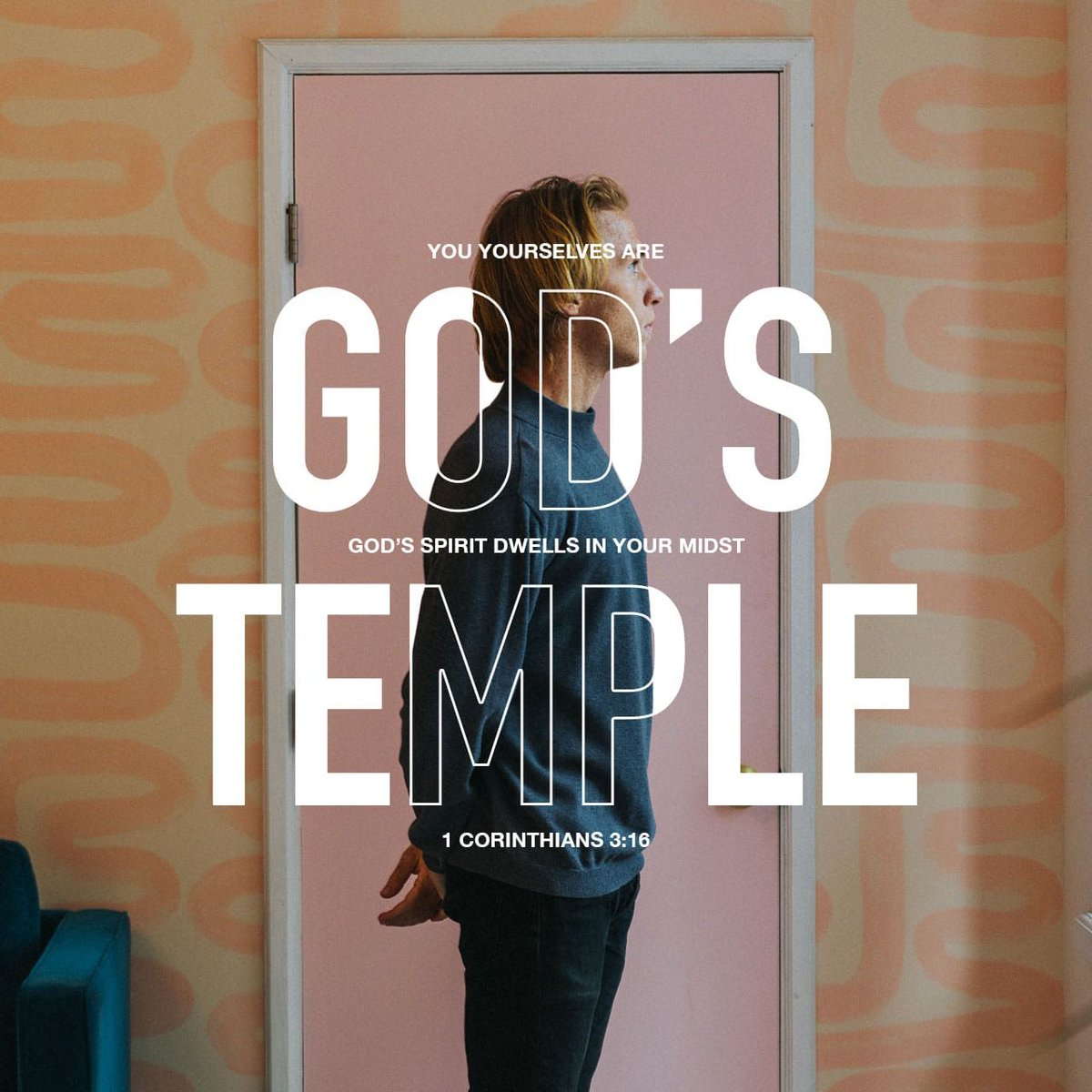 """""""Do you not know that you are the temple of God and that the Spirit of God dwells in you?"""" I Corinthians 3:16<br>http://pic.twitter.com/rFuBfPnUZm"""
