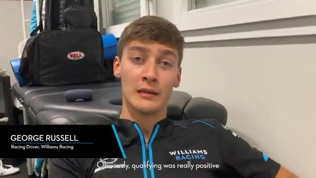 """""""I think we're in a good position coming back here.""""  #GR63 reflects on the opening weekend of the season 👇  #WeAreWilliams 💙"""