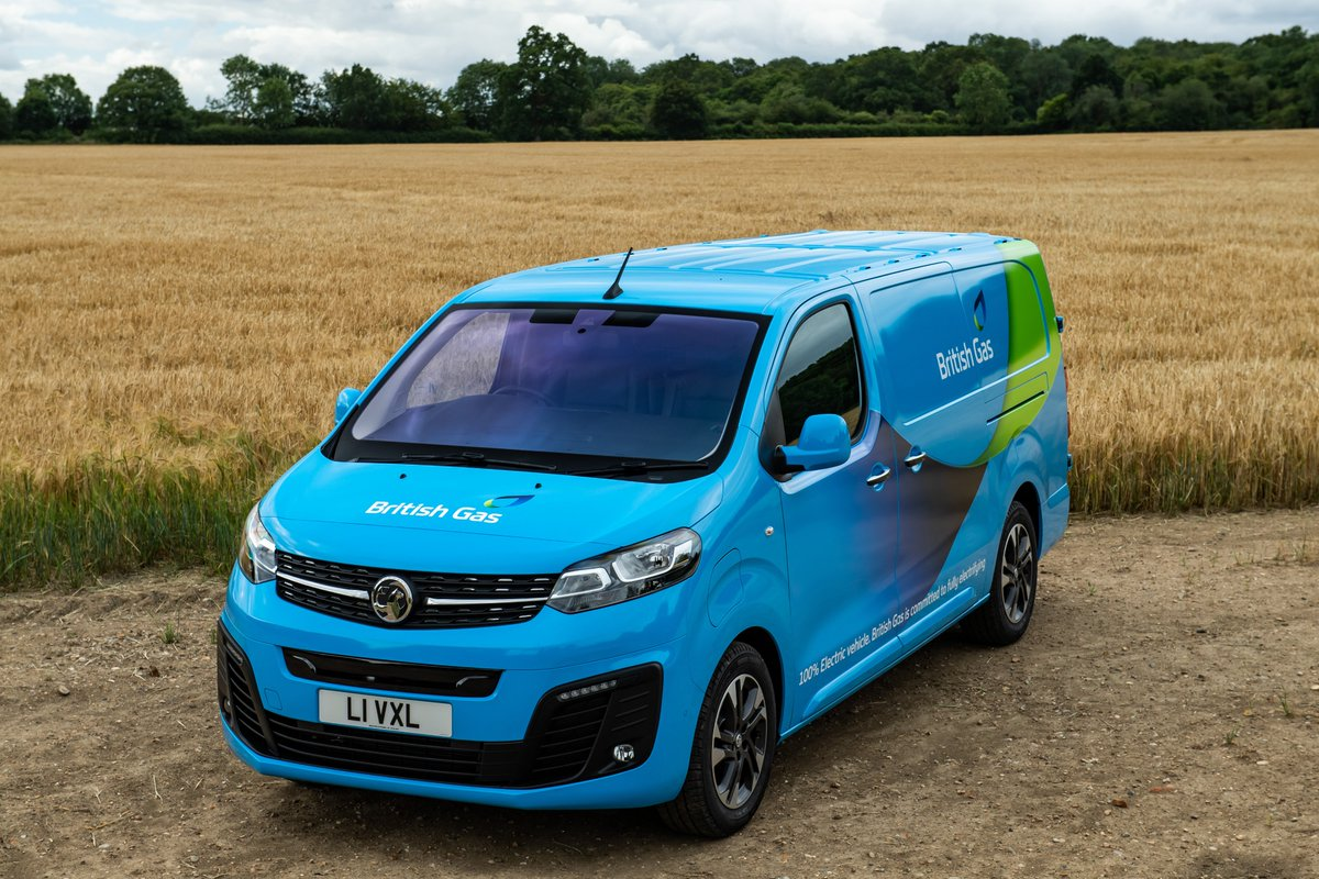 1,000 new all-electric #VivaroE vans have been ordered by @BritishGas from #Vauxhall, the largest electric vehicle order for a commercial fleet in the UK.  Read more here > https://t.co/EvUInTFbn3  #VauxhallGoesElectric #EV #Fleet https://t.co/wMcOB47swl