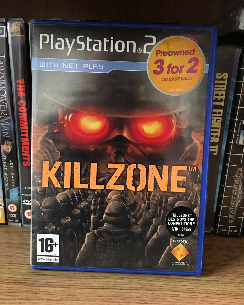 So my pick for #PS2Day is Killzone, I picked this up recently having never played the series. Think it's about time to remedy that!  #ps2 #RETROGAMING #retrogamer #GamersUnite pic.twitter.com/e9710RzckP