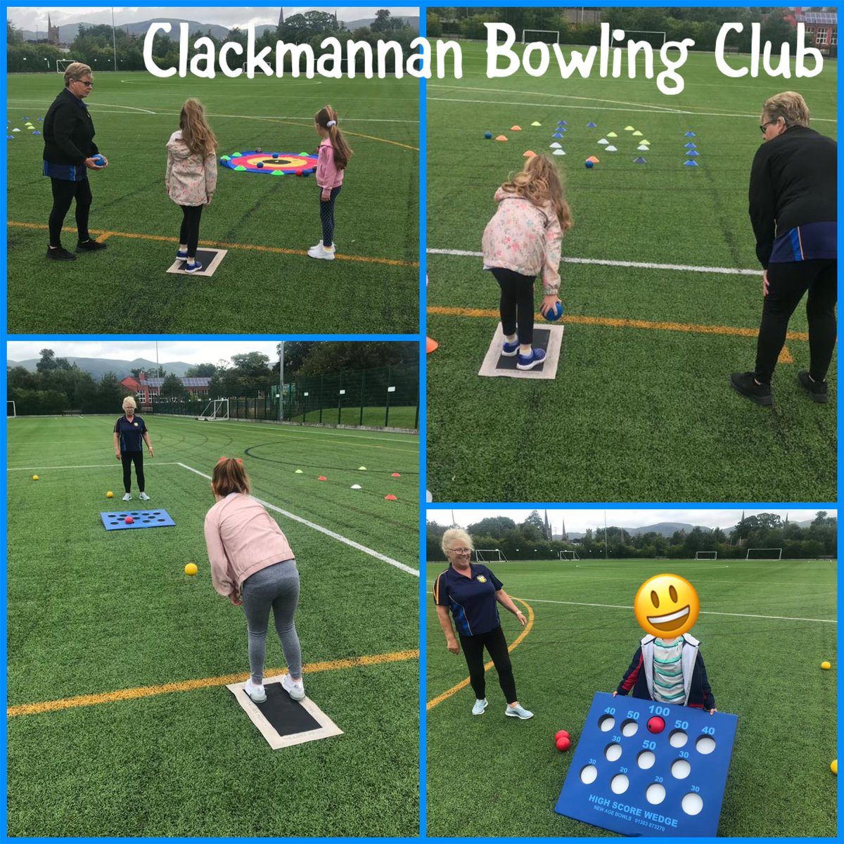 CLUB CONNECT Todays #clubconnect is from Kathryn & Marie from Clackmannan BC They r helping deliver lawn bowls at the @AlloaAcademy summer learning hub for children of key workers & vulnerable families. Thanks for the support guys 👍 #clubs @sportscotland @ClacksEducation https://t.co/AgFEvSWw4L