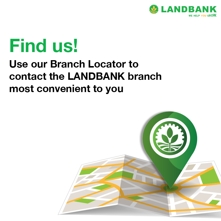 Need to find a LANDBANK branch nearest you? With our Branch Locator, you can retrieve the contact details of any LANDBANK Branch or Lending Center nationwide for your banking inquiries, transactions, and concerns.  Visit https://t.co/G1ycTtcS7m.  #BankingOnTheFilipinoSpirit https://t.co/4pWbafFFp2