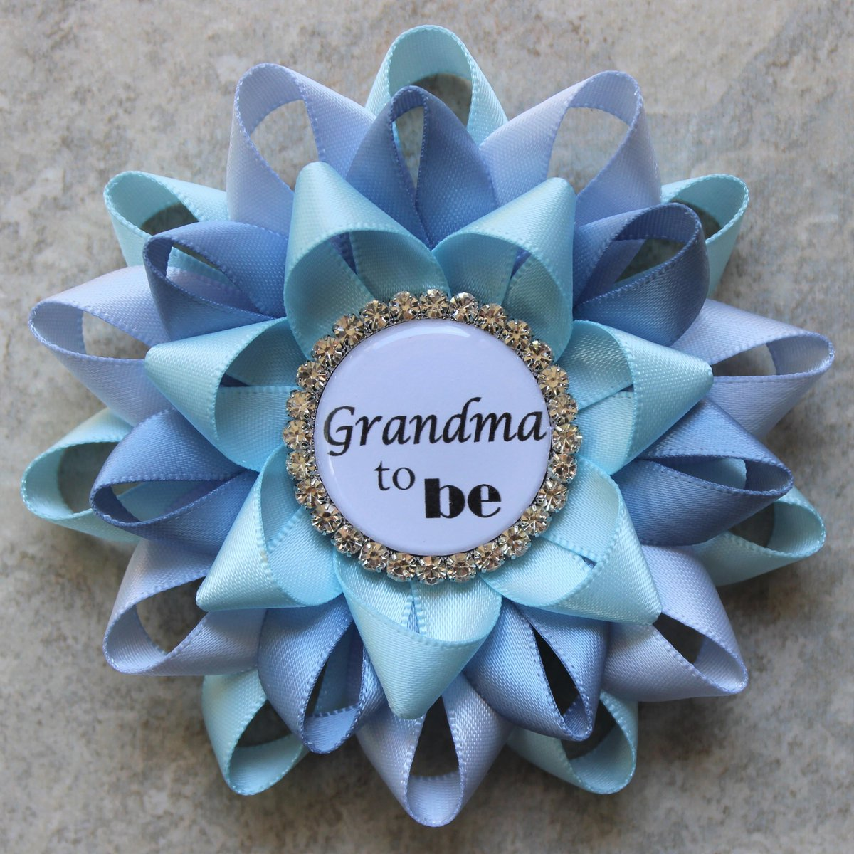 Baby Boy Shower, Shades of Blue Baby Shower Decorations, Baby Shower Pins, Grandma to be, Mommy to be, Light Blue, Ice Blue, French Blue  #etsyshop #smallbiz #ecommerce #shopping #shopsmall #etsy #style #gifts