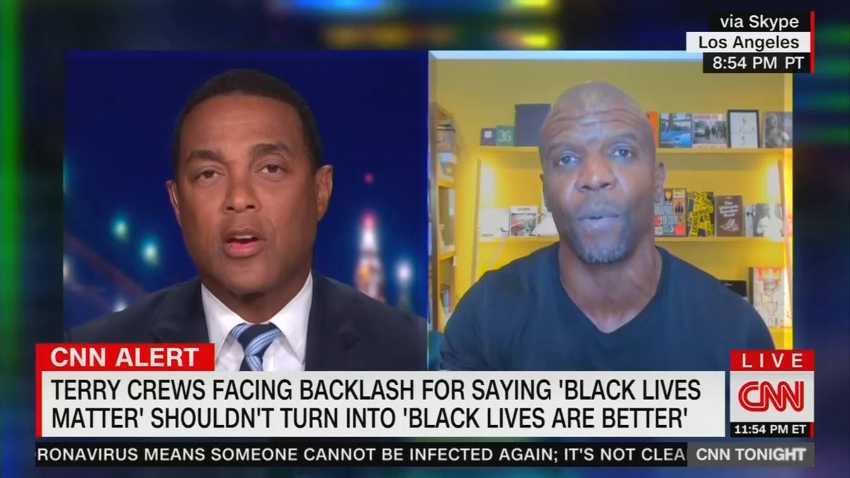 Don Lemon says black lives don't matter unless they're being taken by cops and that you should start your own movement if you want to make black-on-black violence an issue.  https://t.co/NVHRc9rpO9