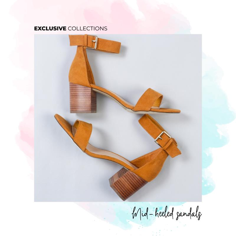 #𝐌𝐮𝐬𝐭𝐚𝐫𝐝 𝐁𝐥𝐨𝐜𝐤 𝐡𝐞𝐞𝐥 𝐬𝐚𝐧𝐝𝐚𝐥𝐬 𝐥𝐢𝐤𝐞 𝐧𝐨𝐧𝐞! Shop the premium piece >>>  . . . #Woodenheels #BlockHeel #Stackheel #OnlineShoesIndia #Fashion #Style #TuesdayThoughts: 𝑆ℎ𝑜𝑒𝑠 𝑎𝑟𝑒 𝑏𝑎𝑠𝑖𝑐 𝑡𝑜 𝑑𝑟𝑒𝑠𝑠 𝑢𝑝!