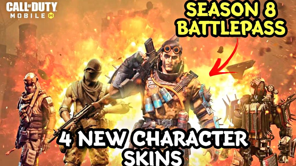 Call Of Duty Mobile On Twitter New Video Https T Co 629tjaksoy New Season 8 Battlepass Has 4 Character Skins New Season 8 Battlepass Has 4 Character Skins Season 8 Battlepass Has More Skins