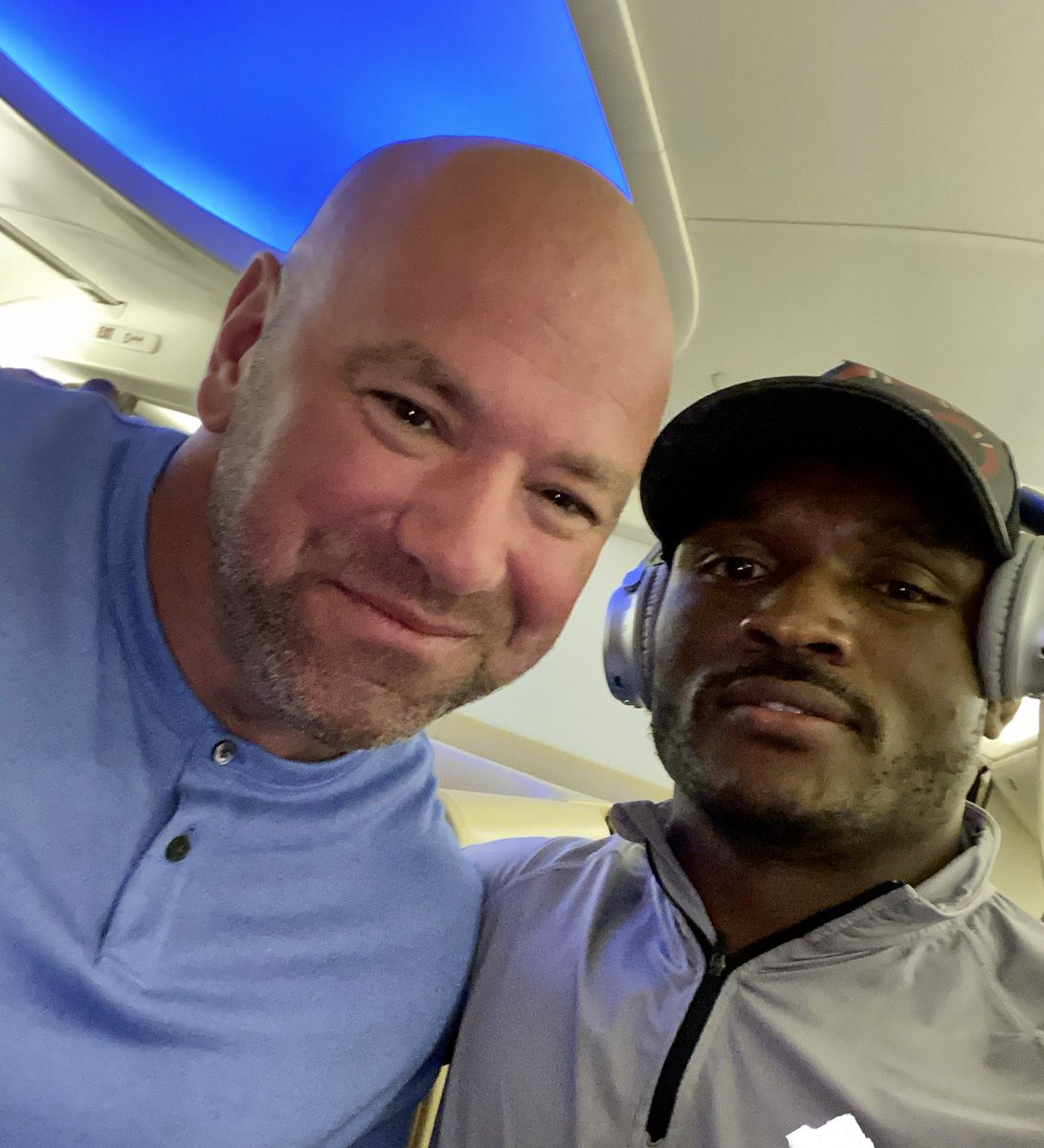 Dana's personal hitman is on the way to #fightisland #ufc251 https://t.co/mGT31anqoW