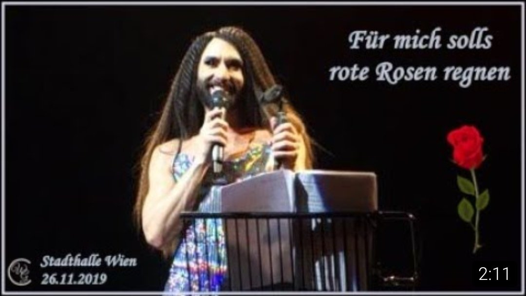TB to the #concert in #Vienna #WienerStadthalle on 26.11.2019   #TomNeuwirth @ConchitaWurst & the #WienerSymphoniker with #FuermichsollsroteRosenregnen   #ConchitaWurst #WIEN #theunstoppables #conchita #wurst #Fromviennawithlove #fvwl    https://youtu.be/WJ43NrD-Nrspic.twitter.com/0od62U6lLx