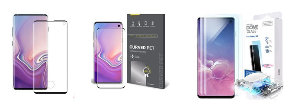 Which screen protector will you choose for your valuable #GalaxyS10 ? Glass with cutout hole or PET film  or #WhitestoneDomeGlass  Exclusive TEMPERED glass screen protector for Ultrasonic FP. You don't need a hole in the middle..   SHOP NOW > http://WHITESTONEDOME.COM pic.twitter.com/om0Vd8H27l
