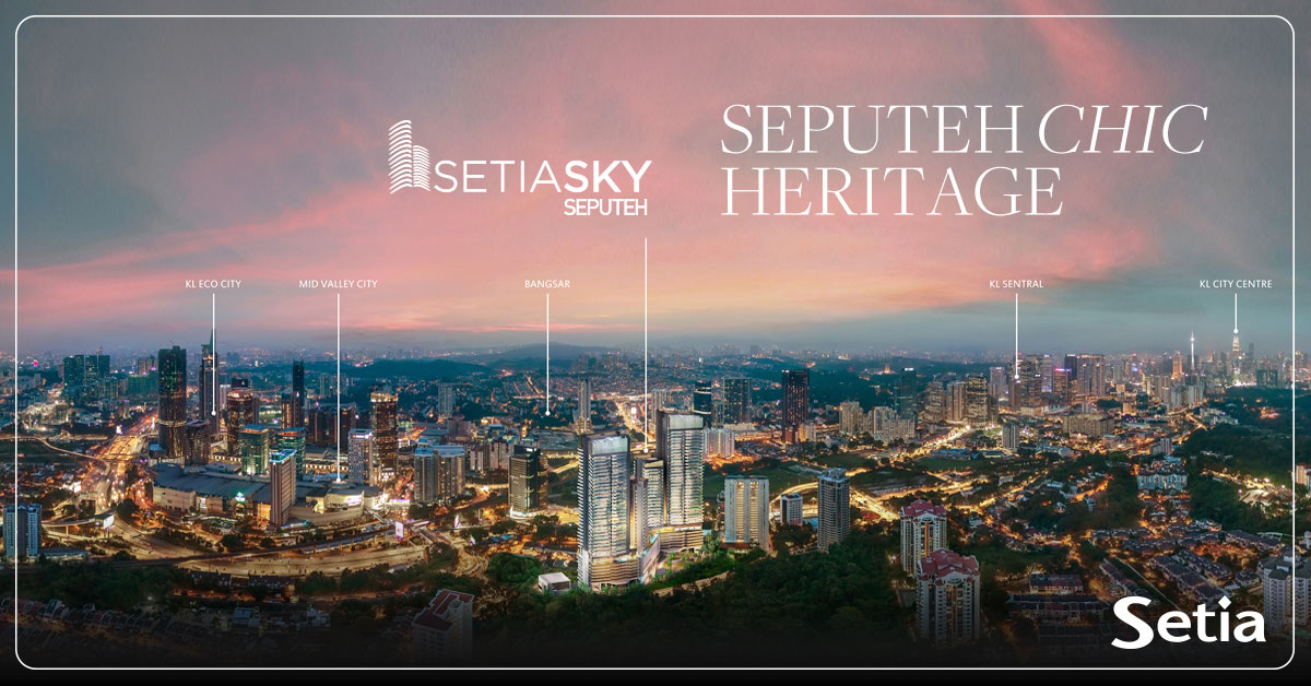 [Sponsored Content] Shape your heritage and make your mark in Setia Sky Seputeh's swanky mansions in the sky.  For more info : https://t.co/Z8Wo89rOko https://t.co/LFC88giStA