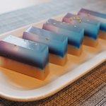 七夕にふさわしい天の川彩りの綺麗で美しい食べ物2選!