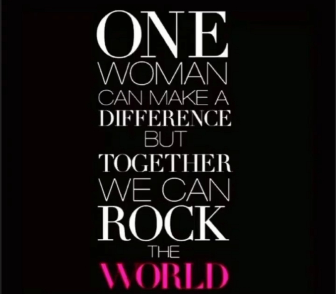 #woman #RockTheWorld #together #HappyTuesday https://t.co/WLPXNcq6F4