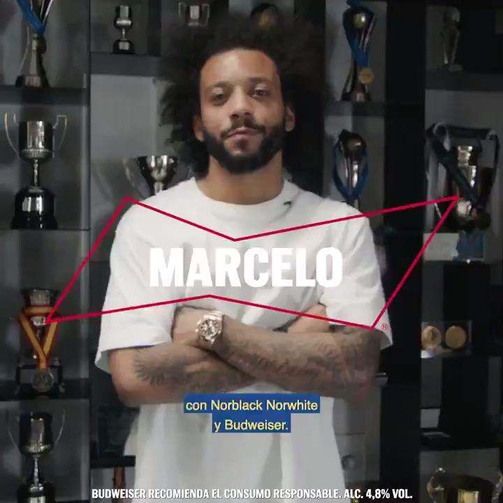 Muy pocos tienen tantas victorias. Es un King dentro del campo y también fuera de él. Unimos a @MarceloM12 en una #KingCollabs con las diseñadoras de @helloNBNW para demostrarlo.  Cuéntanos como te inspira a ti con #KingMarcelo #BeAKing https://t.co/KQ9sPWbDD6