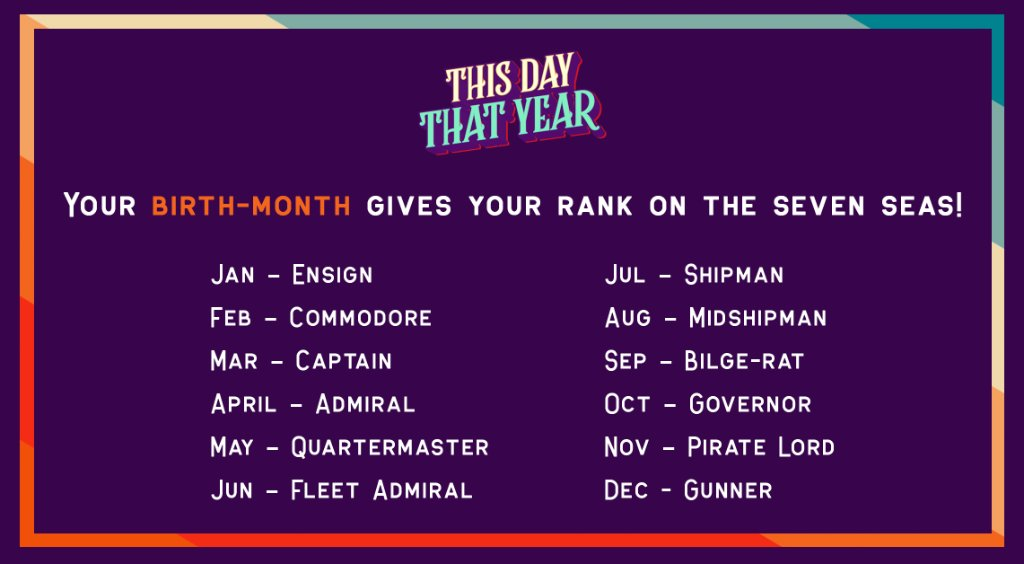 Let us know your rank+name in the comments!  #ThisDayThatYear | #PiratesoftheCaribbean: The Curse of the Black Pearl | July 9 | 6 PM  #POTC #BlackPearl #CaptainJackSparrow #Barbossa #WillTurner<br>http://pic.twitter.com/vCh67uEUcH