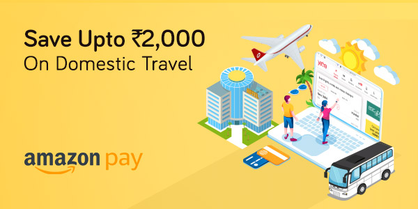 Offer Ends Tonight!  Huge Savings on Flights, Hotels & Bus!  Use Amazon Pay and save upto Rs. 2,000.  Use Code: AMZPAY  Know More: https://t.co/nvpPigCCY4  @amazonIN   #OfferOfTheDay #IndiaKaTravelPlanner #Discounts https://t.co/pR5WROHn6f