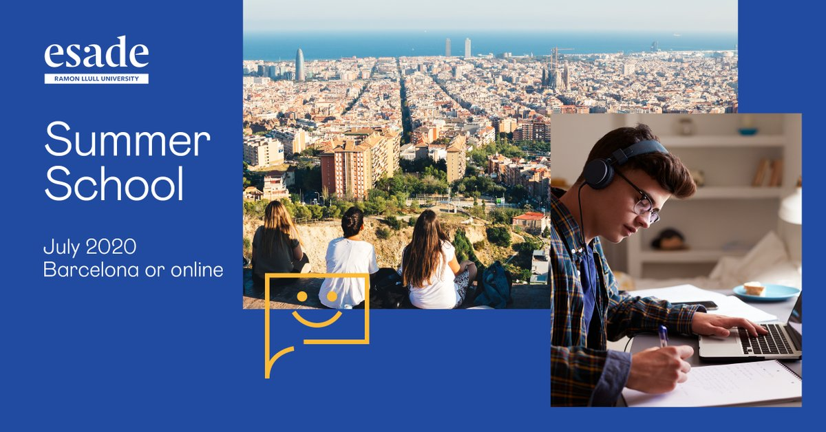 Esade Summer School is here ☀️  A wide variety of programmes for: 🔹 High school students 🔹 Undergraduate students 🔹 Recent graduates  Immerse yourself in a transformative learning experience & start building your future! 🌍  Find out more 👉 https://t.co/NaA9j8JwZN https://t.co/zpKIVYGF0F