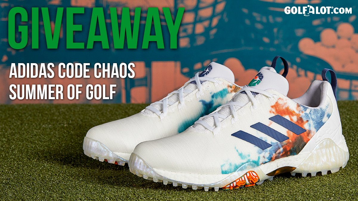 🎁 GIVEAWAY 🎁  We're giving you the chance to win a pair of  @adidasGolf CODECHAOS 'Summer Of Golf' Shoes!  To enter: 🔁 RT this post 👥 Follow @Golfalot & @adidasGolf 🗣 COMMENT with your shoe size  📆 Closes Monday 13th July at midnight  GOOD LUCK! https://t.co/iXgKGW0433