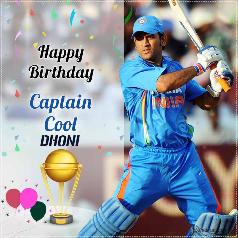 Mahendra Singh Dhoni is most loved Indian international cricketer who captained the Indian national team from 2007 to 2016 and in Test cricket from 2008 to 2014. Also known as Mahi, Dhoni was born on 7 July 1981 pic.twitter.com/eYO88uVc8V