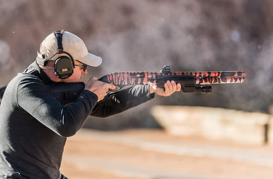 ⁣Carole Baskin hates this shotgun. ⠀⁠ Not saying that we were ahead of the curve on this whole Tiger King craze.  ⠀⁠ Just pointing out that we posted this photo back in 2019. ⠀⁠ #QuarantineLife #VangComp #2a #freedom #guns #Tigers #TigerKing #tiger #Shotgun https://t.co/z7H38d4yGj