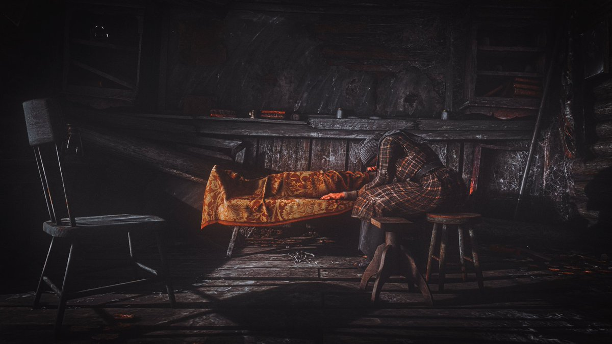My submissions for the #Gametography30 challenge, days 4-6, always late...  4- Shattered 5- Vibrant 6- Two-toned  #Gametography #VGPUnite #RDR2 #RDR2Photomode #GodofWar #VirtualPhotographypic.twitter.com/3PZ9RQFBBY