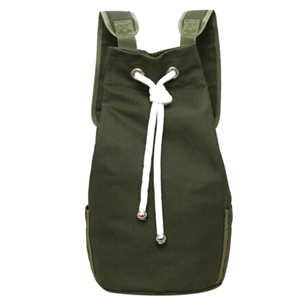 #friends #fabulous Men's Sport Style Canvas Drawstring Backpack