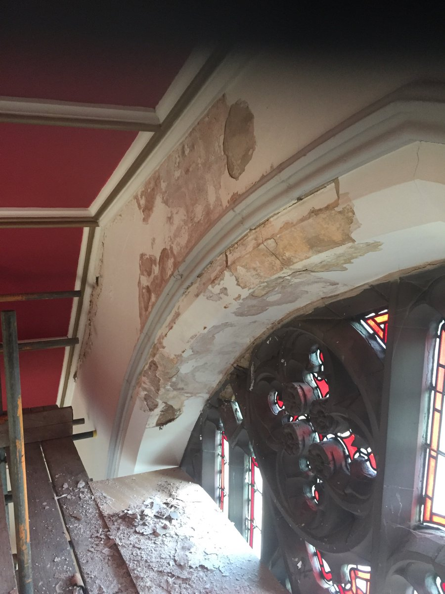 Having a rant  priced a church last year in blackley  #manchester we won the job found a massive issue which needed a structural engineer but now the architects involved he's brought in his own people bit annoyed as this is happening a lot  pic.twitter.com/ZSO3MFIQyC