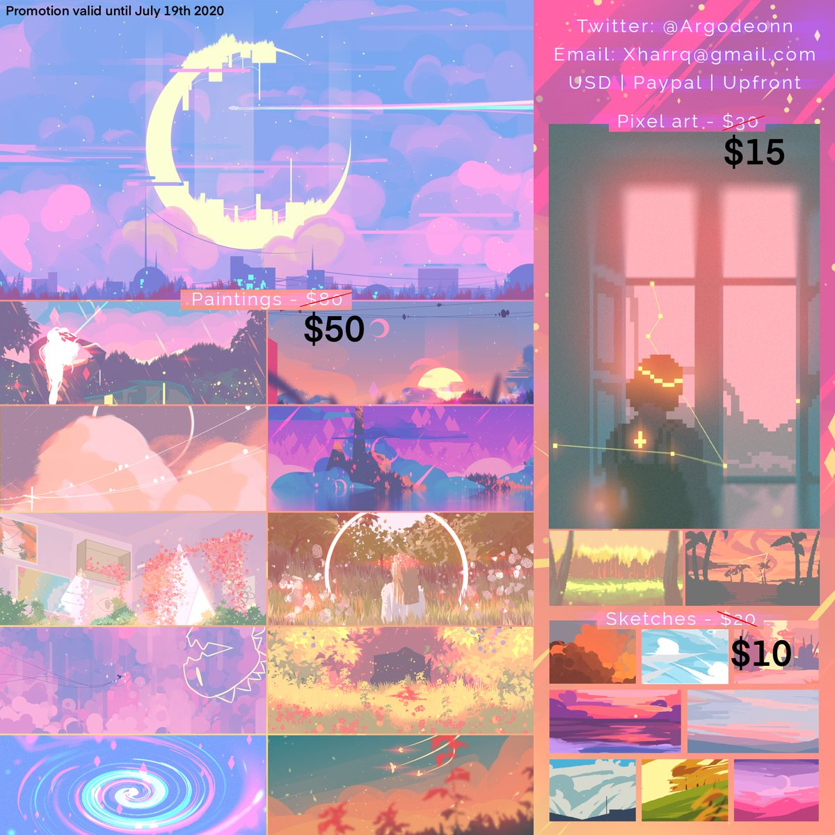 EMERGENCY ART COMMISSIONS FOR A LIMITED TIME! Me, my mom, and my autistic brother are constantly being bullied by our ableist neighborhood, so we're moving to a new place! We already covered the flight tickets. We just need $365 USD more for the rest of expenses. Pls RT ;w;