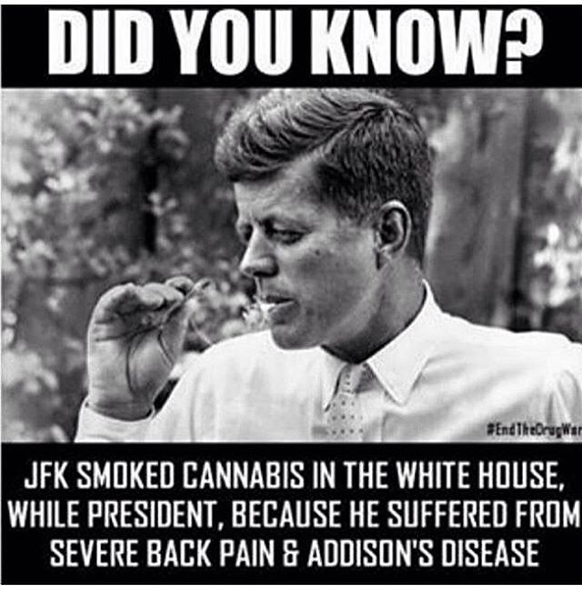 Question: Do you think @realDonaldTrump has ever tried #Cannabis?  #POTUS #CannabisCommunity pic.twitter.com/3Ymn8hVIRm
