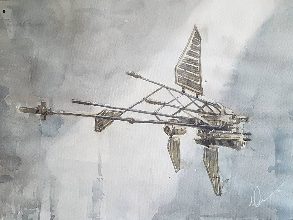 Breacher no#176, watercolour loose study #art #eveonline #contemporaryartist #loosewatercolor #watercolor #traditionalart #artofagamer #dailyscifi #scifipainting #scifiartwork #lloydgeorge #tweetfleet #creativeuprising #evecreatives #loosepainting #painting #spaceships #spac…pic.twitter.com/51et8QfWwu