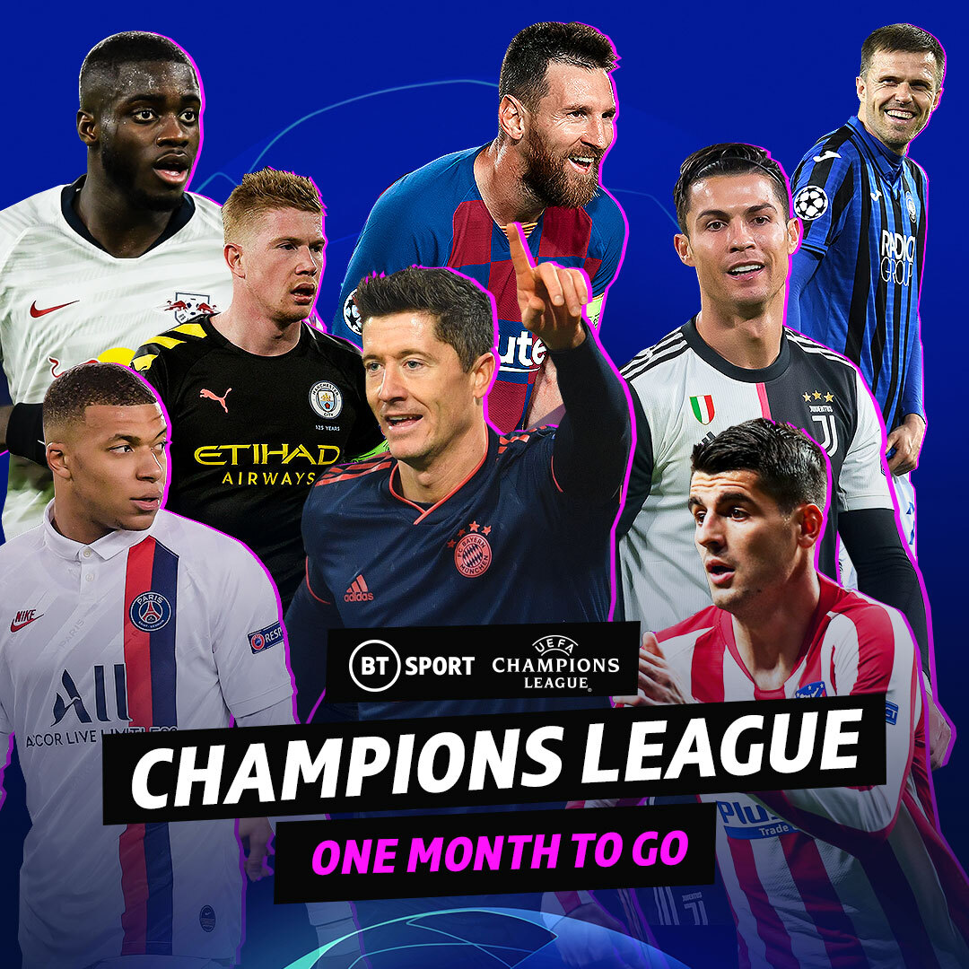 Only one month to go until the Champions League returns! 🤩  1️⃣1️⃣ matches across 1️⃣7️⃣ stacked days in August!  Bring. It. On. https://t.co/grMMWF4FDS