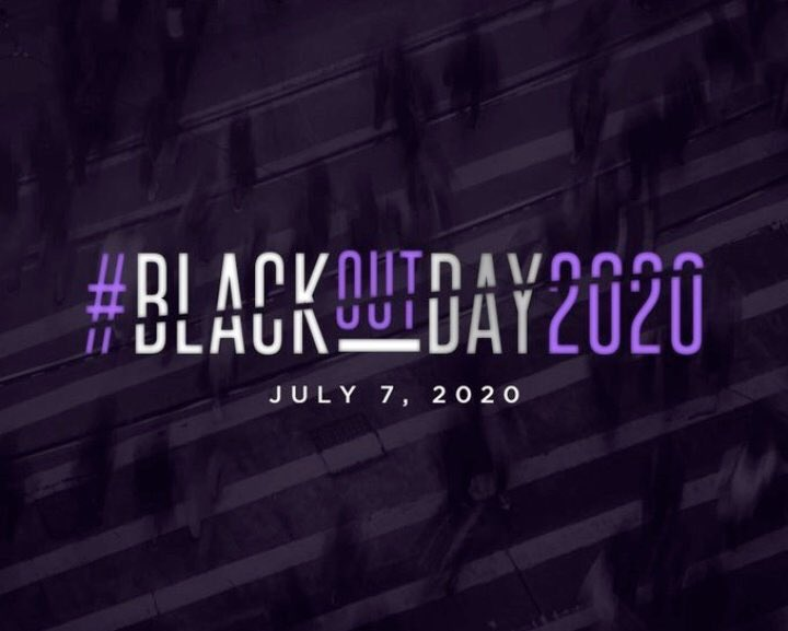 #BlackoutTuesday  #BlackoutDay2020 https://t.co/bHfqMDebc0