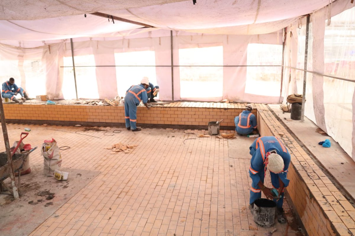 Our team of experts in acidic resistant tiling, finishing up on tiling an industrial processing area in one of our sites. For all building & construction services contact us +254796116144. http://doubleinfinity.co.ke #UhaiWakoJukumuLako  #SabaSabaMarchForOurLives #SabaSaba  #staysafepic.twitter.com/Q9j5AnEBMT