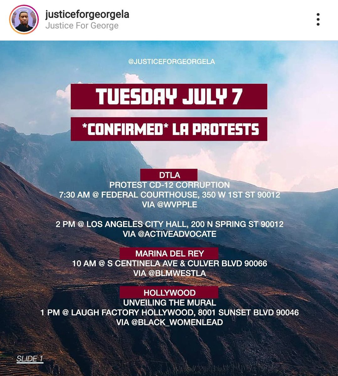 Los Angeles direct actions for Tuesday, July 7 Locations: Downtown LA, Marina Del Rey, Hollywood, Long Beach, El Segundo, South Gate, Sherman Oaks, Fontana  https://t.co/N9AANgb2sb  #LosAngelesProtest #socalprotest https://t.co/ohjVMhPTuX