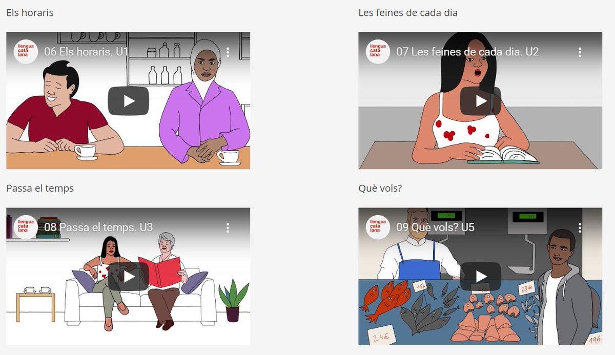 Vols aprendre #català?   📺 Hem creat una minisèrie de 21 vídeos amb la qual pots aprendre a presentar-te, a fer gestions senzilles, a relacionar-te amb amics, a anar a comprar, a preparar-te per a una entrevista de feina...  👉 https://t.co/1KYiD337Ao  @llenguacatalana https://t.co/nB4KyMed1j