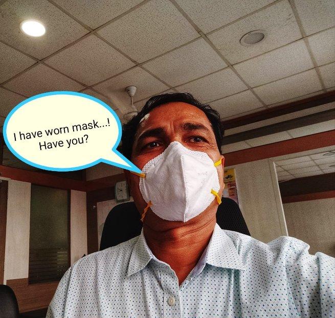 अजित पवार, अतिरिक्त आयुक्त २, पिंपरी चिंचवड महानगरपालिका यांनी नागरिकांना मास्क घालण्याचे आवाहन केले आहे.  Post your Mask Avatar with hashtag #MaskForSafePCMC & Tag to @PCMCSarathi   #StayHome #social_distancing #COVID19 #PCMCFightAgainstCoronaVirus #PCMC #IndiaFightsCoronapic.twitter.com/VdSCGJpbhB