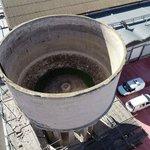 Image for the Tweet beginning: The #ReSHEALiencePilot6 water tower restoration